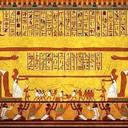 «пусть они убивают как можно больше…»<br />И вот он – фирменный стиль борьбы с человечеством: «разделяя — властвуй!», которым иудеи-жрецы пользовались ещё в Древнем Египте. Обратите внимание на эту древнеегипетскую фреску. Фараон с головой змеи и фараон с головой крокодила одной рукой держатся друг за друга, а свободными руками они манипулируют подвластными народами, понуждая их воевать друг против друга. Рептилии понуждают людей убивать друг друга …