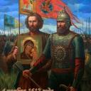 4 ноября 1612 года Дмитрий Пожарский вошел в Кремль с  иконой Казанской Божьей матери.