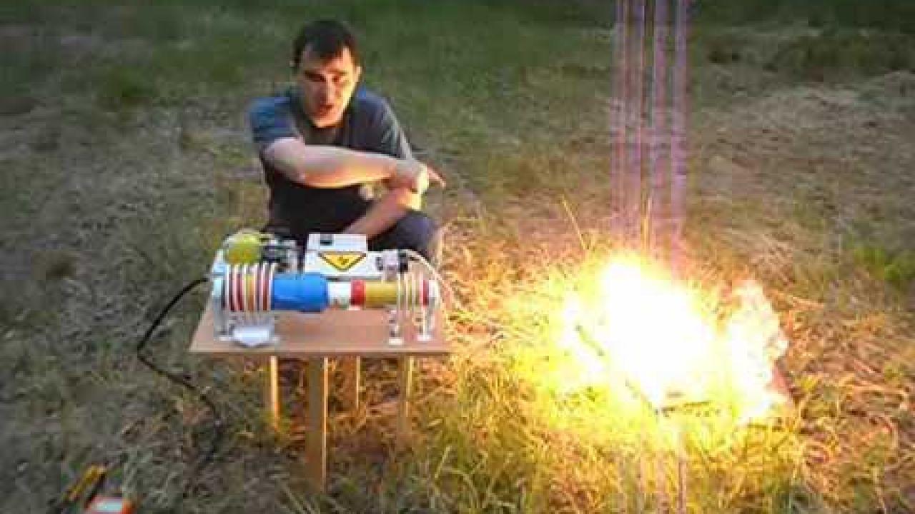 Генератор свободной энергии на основе катушки Тесла - 4 КВт