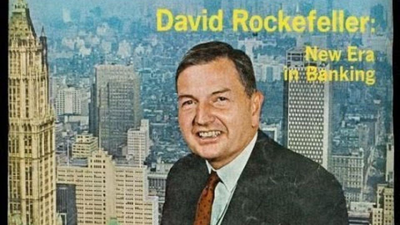 Дэвид Рокфеллер и новый мировой порядок