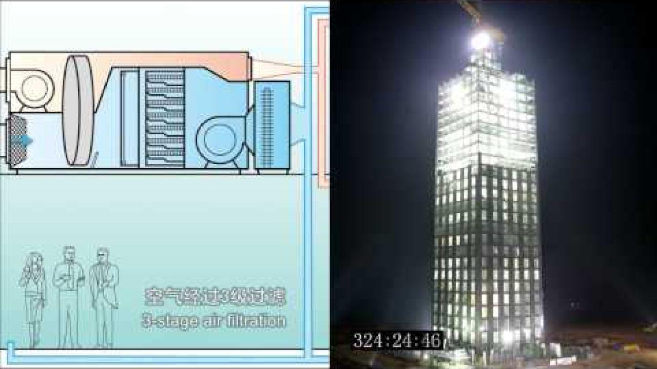 200 рабочих-строителей возвели 30-этажный дом всего за 15 дней!