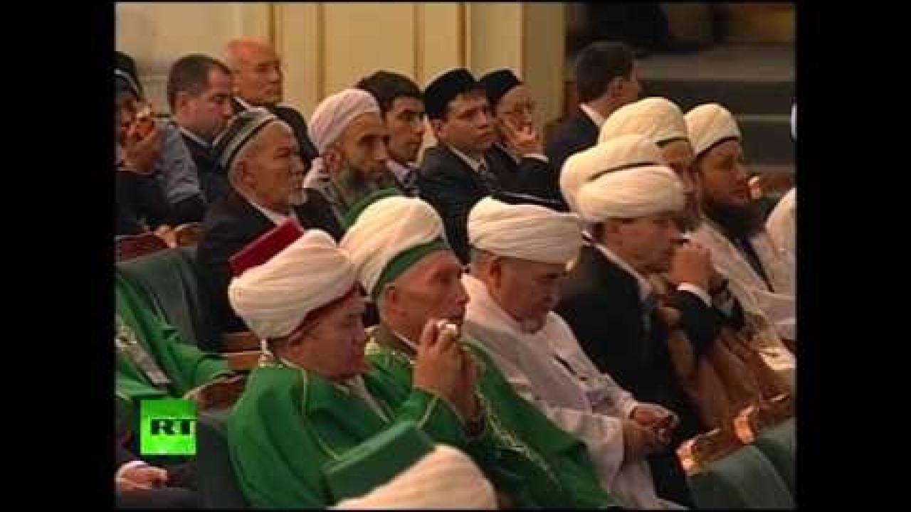 Выступление Путина на 225-летии центрального духовного управления мусульман России